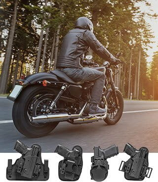 Motorcycle holster lineup